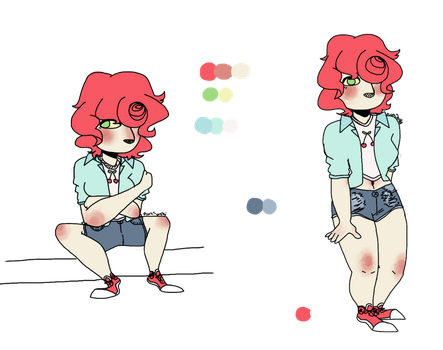 (READ THE DESCRIPTION OR DIE) cherry ref by RuraSenpai