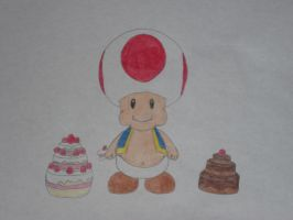 Fat Toad by rabbidlover01