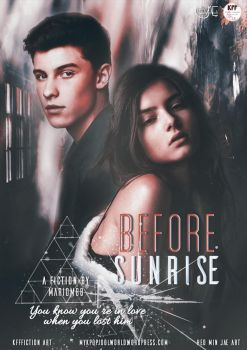 Before Sunrise | Fanfiction Poster by heominjae