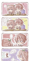 Comic Strip Commission:: Cherry x Ryuuta by OtakuPup