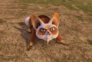 Master Shifu - in real animal style by sonamyfire