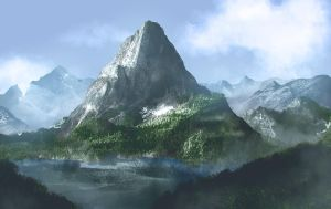 Big mountain by davebrush