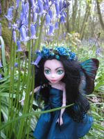 Lost in the bluebells by assassin-kitty