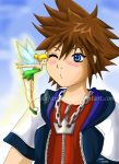 sora's first kiss by belafantasy