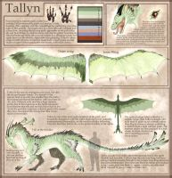 Tallyn - Ref Sheet by RedTallin