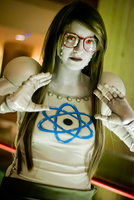 Jadebot Cosplay! by Swoz