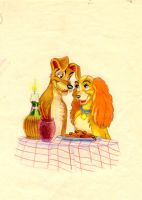 The Lady and the Tramp by ShampooNeko