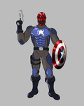 Captain Skull: Villainous Avengers by splaty