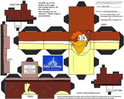 Dis33: Launchpad McQuack Cubee by TheFlyingDachshund
