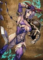 Ivy- Soul Calibur by DragonRose313
