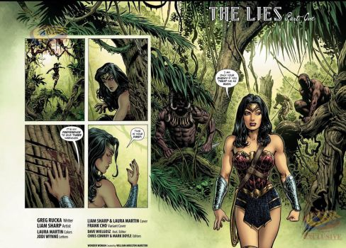 Spread from issue 1 WW by LiamSharp