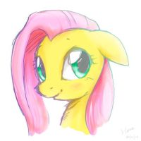 flutterportait by derpiihooves