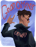 Good Omens more Crowley by Pi3shark