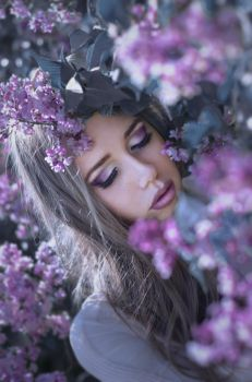 Scent of lilacs by PatrycjaMarciniak