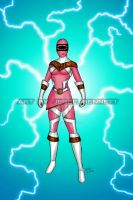 Mighty Morphin Power Rangers Zeo (Super Zeo pink) by blueliberty