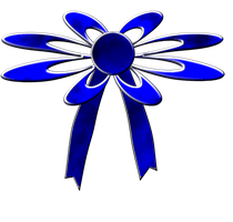 Blue Bow Stock by venicet