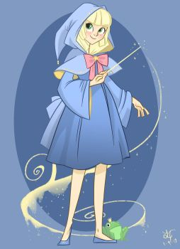 Young Fairy Godmother by ParfyWarfy