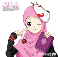 Gift - Fairus Hasna Nabila by 554generation