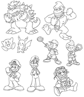 Several Brawl Inks by StacMaster-S