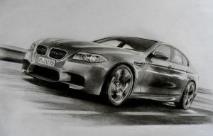 BMW M5 by CaptainJoellie