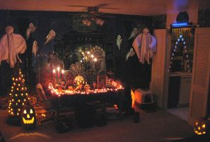 Halloween Decor Interior 6 by EVysther