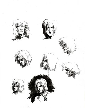 Raiden faces by PierreDave85