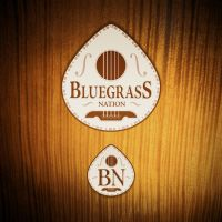 Bluegrass Nation visual identity by vsMJ
