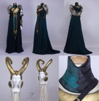 Lady Loki by Jolien-Rosanne