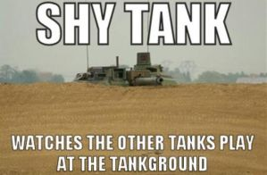 Shy Tank by TheFunnyAmerican