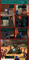 AWG Comics Issue 6 by GameKeeperX