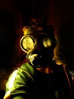 gas mask by RJetti