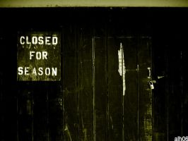 closed for season by CiRcUsSpiDeR
