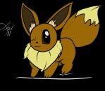 Shuffle and Draw: Eevee by FoxNoctom