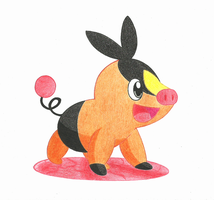 Tepig by BuizelCream