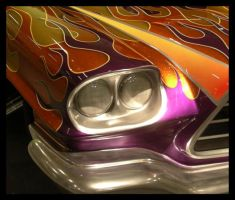 Fragment of a drag race car by NorthernGirl777
