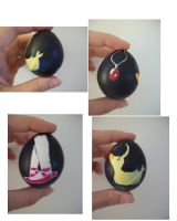 Princess Tutu egg by oddsterinJpan