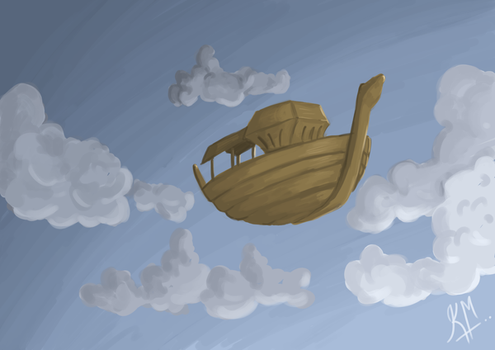 Flying Boat by Vyoma