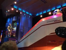 C-3PO is talking to R2-D2 in Star Tours by Magic-Kristina-KW