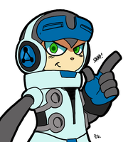 Mighty No 9 - Beck by theEyZmaster