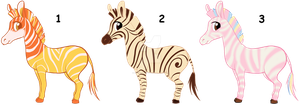 Point sweet zebra adoptables CLOSED by AdolfWolfed4Life