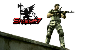 Chris Redfield - Render 5 by snakeff7