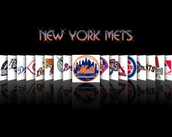NY METS Apple mirrored effect by PHATJOINT