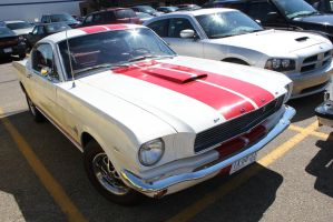 Red Striped Fastback by KyleAndTheClassics