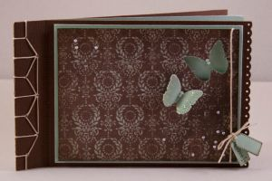 butterfly-card bookbinding by teufelchen786