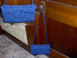 Nylon Purse by ayellowsubmarine