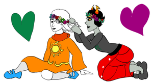 Flower Crowns and Braiding by Frenchkitty88