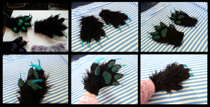 GLC Dealers Den - Sea Monster Handpaws by CuriousCreatures