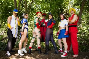 Ultra Street Fighter IV Cosplay by AzHP