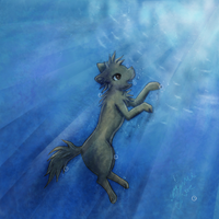 I be underwater. by conwolf