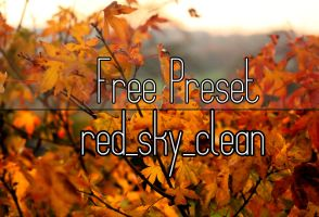 Free Red Sky Colour Enhance Presets For Lightroom by LucasSchmPhotography